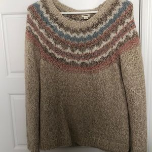 Knit sweater from Garage.